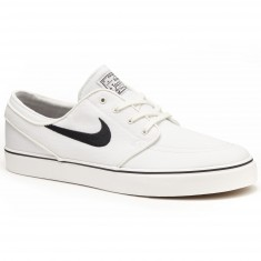 Nike Zoom Stefan Janoski Canvas Shoes - Summit White/Black