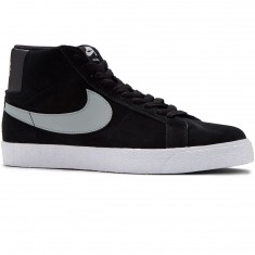 Nike SB Blazer Premium SE Shoes - Grey/Black/White