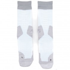 Nike Elite SB Skate Crew 2.0 Socks - White/Grey