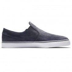 Nike SB X Poler Zoom Janoski Slip QS Shoes - Thunder Blue/Sail
