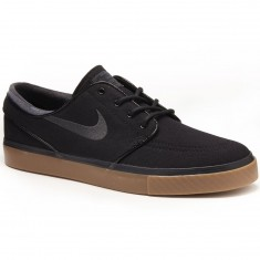 Nike Zoom Stefan Janoski Shoes - Black/Gum/Brown/Anthracite