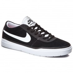 Nike SB Bruin Hyperfeel Shoes - Black/White/White