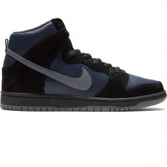 Nike SB Dunk High Gino QS Shoes - Black/Lite Graphite/Obsidian