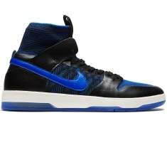 Nike SB Kevin Terpening Zoom Dunk High Elite QS Shoes - Black/Racer Blue Sail/Sonic Yellow