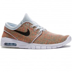Nike Stefan Janoski Max Shoes - Volt/Black Photo Blue/Racer Pink