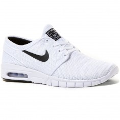 Nike Stefan Janoski Max Shoes - White/Black