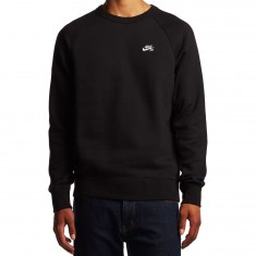 Nike SB X CCS Icon Crew Fleece Sweatshirt - Black/White