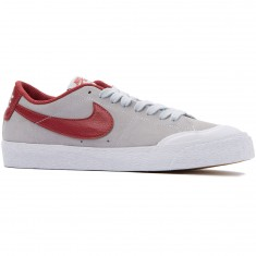 Nike SB Air Zoom Blazer Low XT Shoes - Platinum/Cedar/White