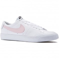 Nike SB Air Zoom Blazer Low XT Shoes - White/Prism Pink/Black