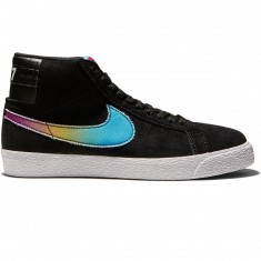 Nike SB Zoom Blazer Mid Lance Mountain QS Shoes - Black/Multi