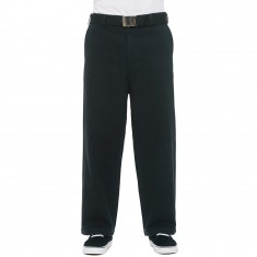 Obey Loiter Big Fits Pants - Black