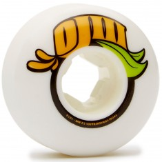 OJ From Concentrate Skateboard Wheels - White - 52mm 101a