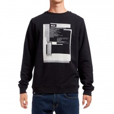 WeSC Bay Crew Neck Sweatshirt - Black