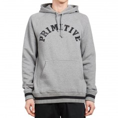 Primitive Ivy League Hoodie - Grey Heather