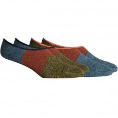 Richer Poorer Riker No Show 2-Pack Socks - Blue