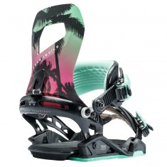 Rome Guild Womens Snowboard Bindings 2018 - Tropical