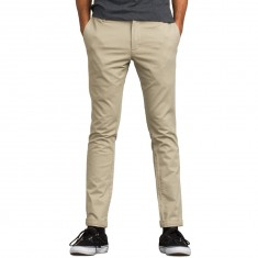 RVCA Stapler Twill Pants - Khaki