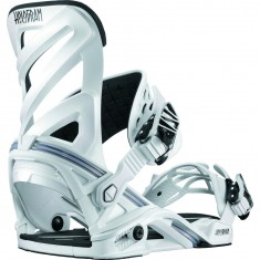 Salomon Hologram Snowboard Bindings - White
