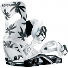 Salomon Mirage Womens Snowboard Bindings - Palm Tree