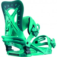 Salomon Nova Womens Snowboard Bindings - Teal Blue