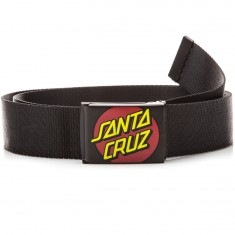 Santa Cruz Classic Dot Web Belt - Black