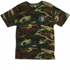 Santa Cruz Screaming Hand T-Shirt - Camouflage Green