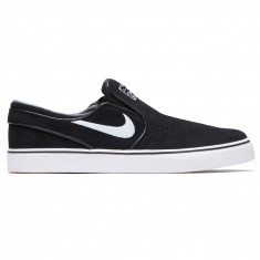 ee196593830a Nike Zoom Stefan Janoski Slip-On Shoes - Black White