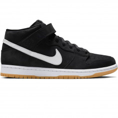 best website 345e1 88683 Nike SB Orange Label Dunk Mid Pro Shoes - Black White Black