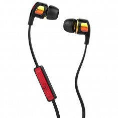 SkullCandy Smokin Bud 2 Headphones - Spaced Out/Orange Iridium