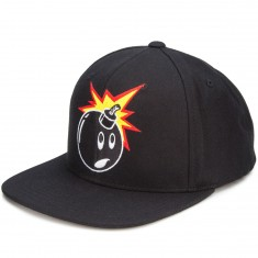 The Hundreds Forever Adam Snapback Hat - Black