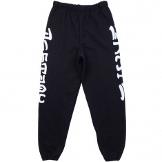 Thrasher Skate and Destroy Sweatpants - Black