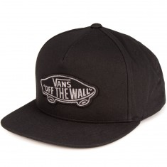 Vans Classic Patch Snapback Hat - Black