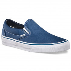 c0bb7ff05e Vans Classic Slip-On Shoes - Navy