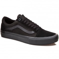 Vans Old Skool Pro Shoes - Blackout