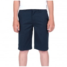 Volcom Frickin Modern Stretch Shorts - Dark Navy