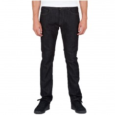 Volcom Solver Denim Pants - Black Rinser