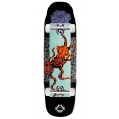 Welcome Bactocat On Sledgehammer Skateboard Complete - Black - 9.00""