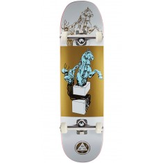 Welcome Hierophant on Moontrimmer 2.0 Skateboard Complete - White/Gold - 8.5