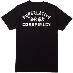 WeSC Max Front and Back T-Shirt - Black