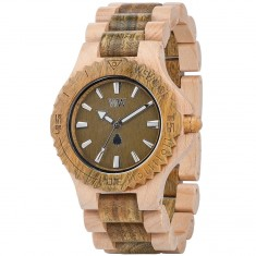 WeWood Date Bicolor Watch - Beige/Army