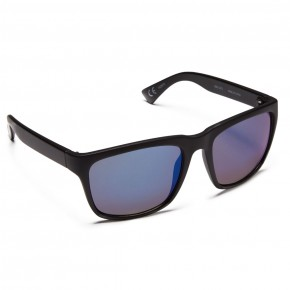 Neff Chip Sunglasses - Matt Black/Blue Mirror