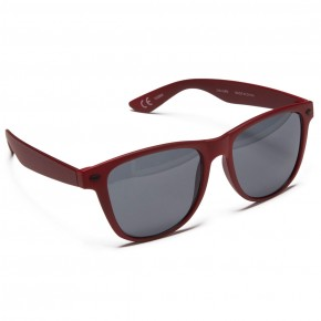 Neff Daily Sunglasses - Maroon Rubber