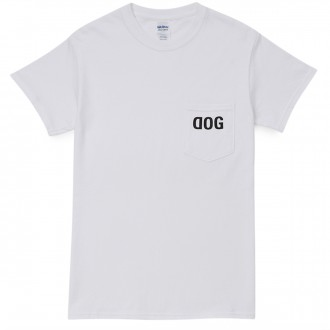 Raw Dog Raw Pocket Dog T-Shirt - White