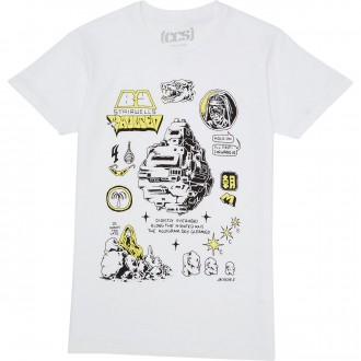 CCS Stairwells Vaulted T-Shirt - White