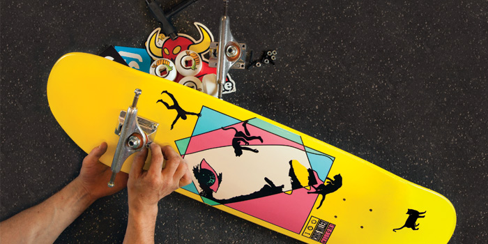 Customize Your Skateboard