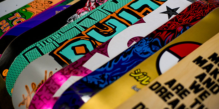 Choosing Your First Skateboard Deck