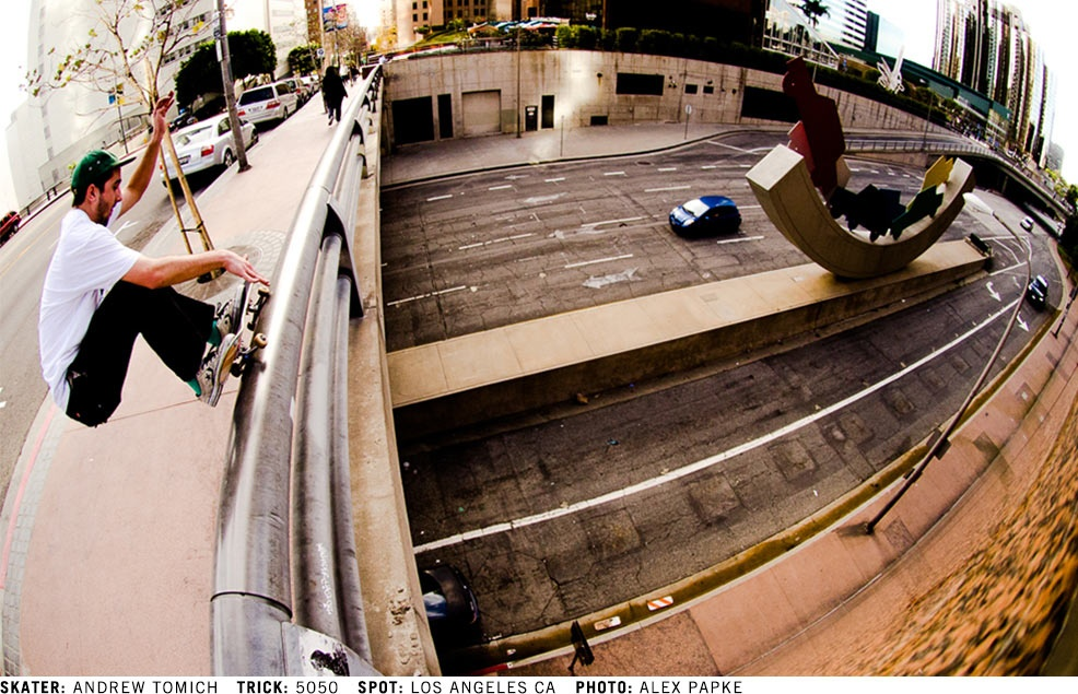 Andrew Tomich - 5050 @ Los Angeles, CA - Photo by: Alex Papke