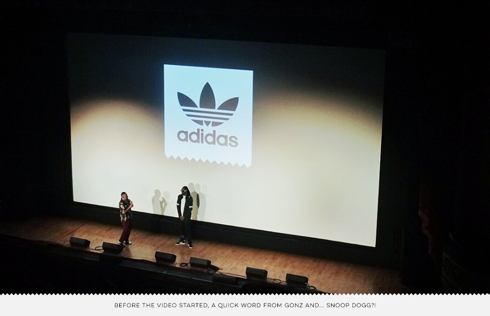 Adidas Away Days L.A. Premiere Recap