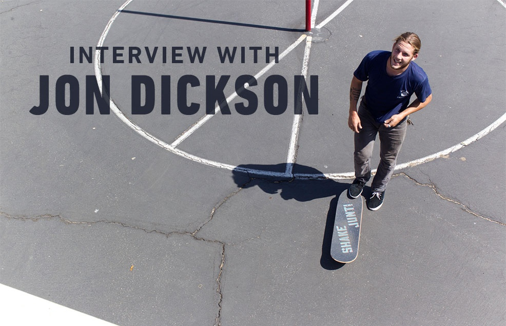 Interview with Jon Dickson