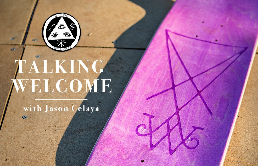 Talking Welcome with Jason Celaya